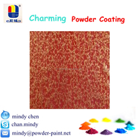 stable rough texture hammered metal finish powder coating spray paint