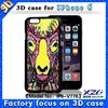 2015 Competitive Factory Supply 3d pattern waterproof case for samsung galaxy e5,high quality pvc waterproof case for iphone