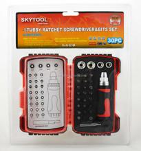 HZE-8505 30pc ratchet screwdriver set /high quality hand tools