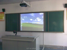 school supply 82 inch interactive whiteboard for classroom with projector and document camera
