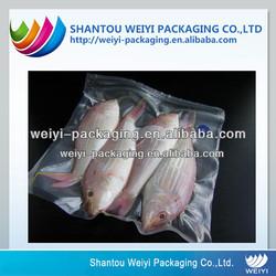 Food grade plastic vacuum cooler bag for frozen food