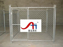 Cheap Outdoor Temporary Fencing for Dogs , Chain Link Fence for Sale, Dog proof chain link fence