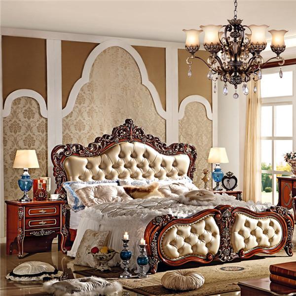 Classique King Size ensemble de chambre / Style européen hôtel ...