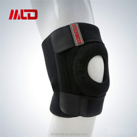 2015 Hot Football Basketball Volleyball Black Durable Leg Knee Pad With OEM Service