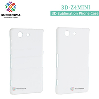 Best Selling Hard PC Mobile Phone Cover, 3D Blank Phone Case for Sony Z4MINI