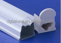 LED integrated aluminum LED lamp components with V2 and V0 lamp caps