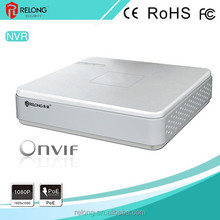 4/8ch 1080P NVR preview and record HDMI/VGA output auto-search IP camera 1 SATA HDD surveillance system NVR with ONVIF POE