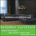 Cidade de foshan móveis fabricantes, laranja sofás venda, mobiliário sofá de couro moderno