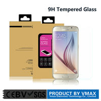 Brand Vmax For Samsung Galaxy S6 High Clear mobile / cell phone tempered screen protector