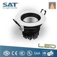 Adjustable 30 deg aluminum 12w mini size ceiling led spotlight