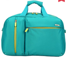 Cheap waterproof travel bag promotion gift travelling duffle bag 600D polyester