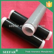 de caucho de silicona en frío del tubo retráctil para el aislamiento del cable