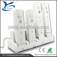 ree shipping! dual charger station accessories holder for wii remote for wii charger