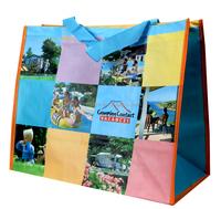 bopp laminated durable pp woven shopping bag