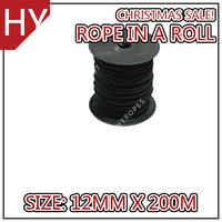 HYropes RR0307 black Color colored rope rope bike flags rope