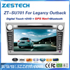Zestech accessories for Subaru Legarcy Outback car monitor