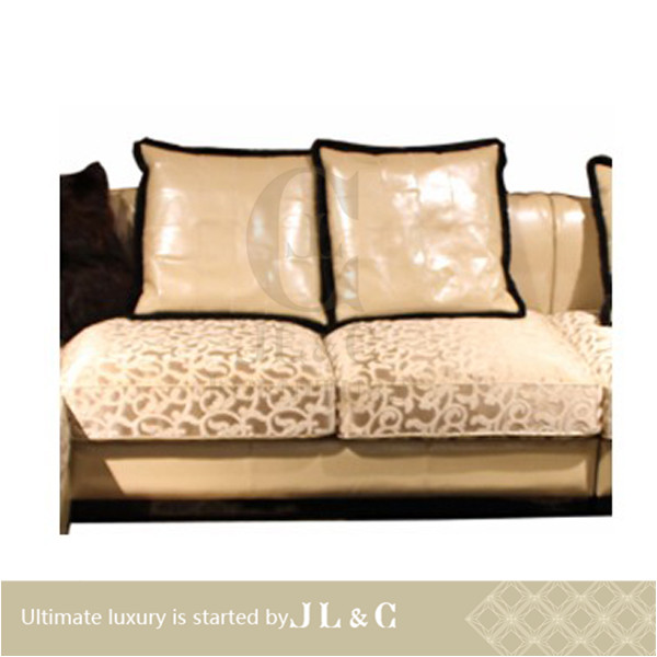 New Js70 20 2 Seat Armless Sofa Leather Sofa Set In Living
