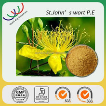 Prevent against depression 0.3% Hypericin st.john's wort extract,100% natural hypericum perforatum extract hyperforin