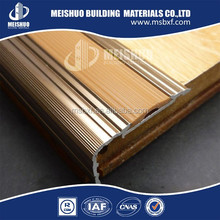 Wood Timber Step Durable PVC Anti-slip Rubber Stair Treads For Home