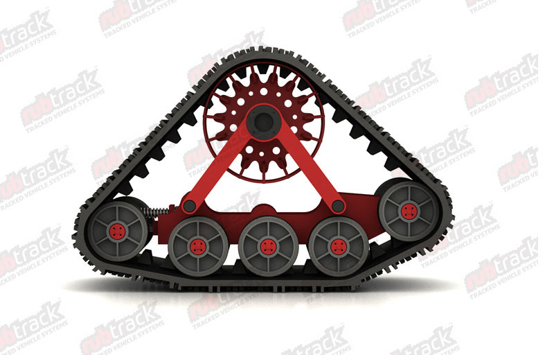 Supply High Quality Rubber Track Assembly For Tractor