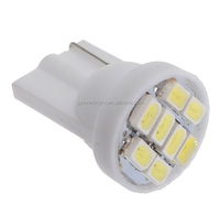 White Red Blue T10 194 168 W5W 8 SMD 3020 LED Car Auto Wedge Side Lights Lamp Bulb