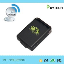 2015 HOT SALE mini gps tracker TK102B for people, pets and vehicle which can easily do all the basics