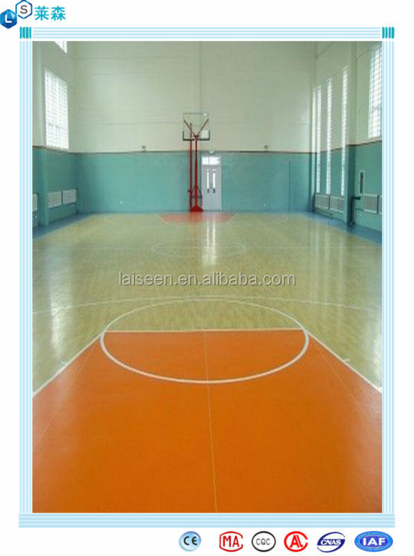 Wide application basketball sport basketball court floor for Average basketball court size