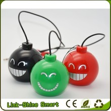 rechargeable popular design 3.5mm plug mini sound bomb pc speaker shenzhen