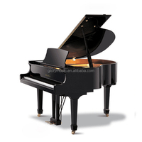 Music Instruments High Quality Acoustic Solid Wood Piano Keyboard Walnut Baby Grand Piano price