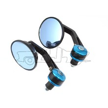 BJ-RM-046R Manufacture round CNC machined aluminum bar end mirror motorcycle for street bike