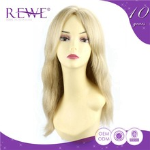 Affordable Price 100% Real Front Lace Hair Human China Wig Blonde Wholesale