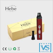 2015 best portable herbal Vaporizer pen titan-2 vaporizer, Hebe vapor ,authentic titan 2 with CE Rohs FCC certification