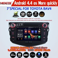 Quad Core 2 Din Android 4.4 Car Dvd Player Autoradio GPS For RAV 4 Toyota RAV4 GPS Navigation Audio Stereo Head Unit Pc