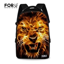 FOR U DESIGN Lightning Animal Series Teenage School Bags and Backpacks with Owl