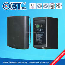 OBT-9806 24v trigger alarm ip network speaker, replay audio active poe speaker solution
