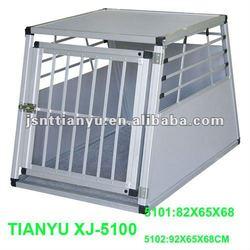 aluminum dog transport cage crate