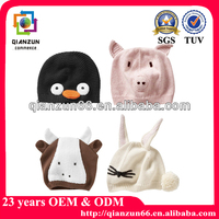 Wholesale Knitted Winter Animal Hat
