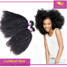 all textures customed unprocessed virgin mongolian afro kinky curl human hair style