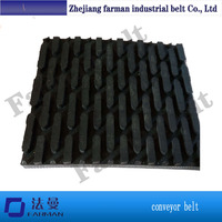 9.0mm Thickness Pvc Rubber Conveyor Belt For Wood Sanding Machine