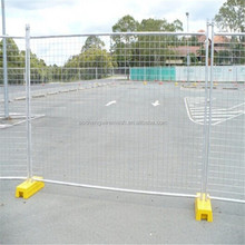 Low price removable garden fence/temporary fence plastic base/construction temporary fence panels