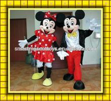 buena visual de alta calidad de mickey mouse disfraces para adultos