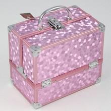 professional makeup case makup box pvc make up case