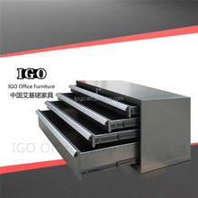 IGO-004T 4 drawers drawings cabinet Steel materials Cery cheap steel filing cabinet
