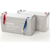 High power 12v 120ah rechargeable sealed lead acid GEL storage solar battery