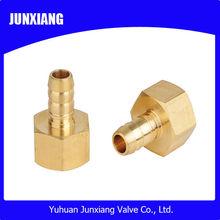 Brass fitting plumbing equal straight