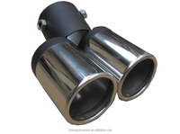 exhaust car system tubes high performance heavy truck hi-power cheap price titanium car flexible auto exhaust muffler
