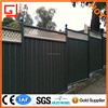 AnPing factory supply corrugated wall Colorbond fence with best quality