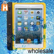 New Product for iPad Mini Waterproof Case,PVC+ABS Armband Bag for iPad Mini