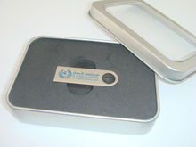OEM Capless Metal DTSE9 USB flash drive 8GB with tin box packing