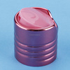 PP plastic disc cap/ flip-top cap/press eversion cap disc top cap